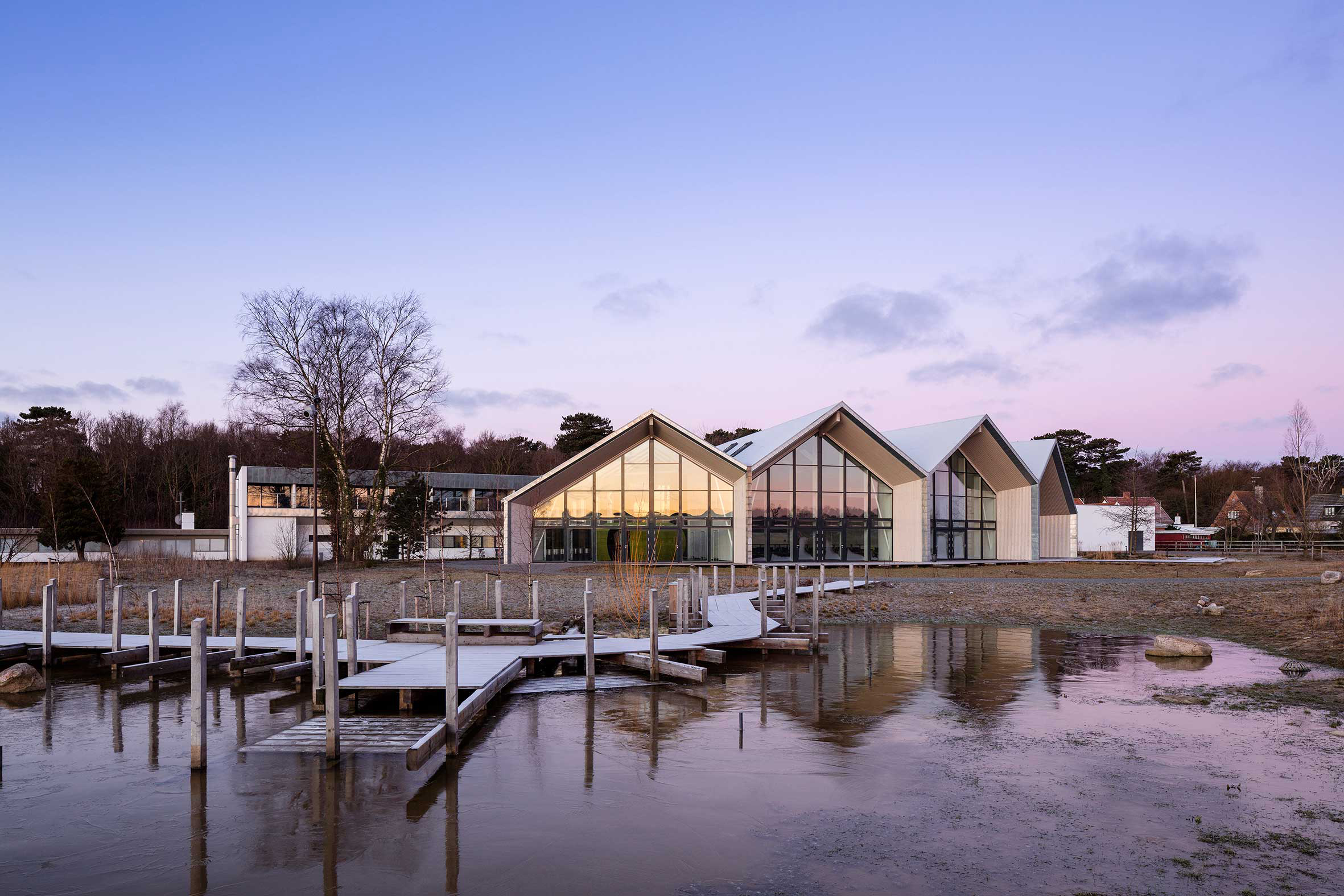 Photo of Green Solution House by 3XN Architects. Photo Credit: Adam Mørk