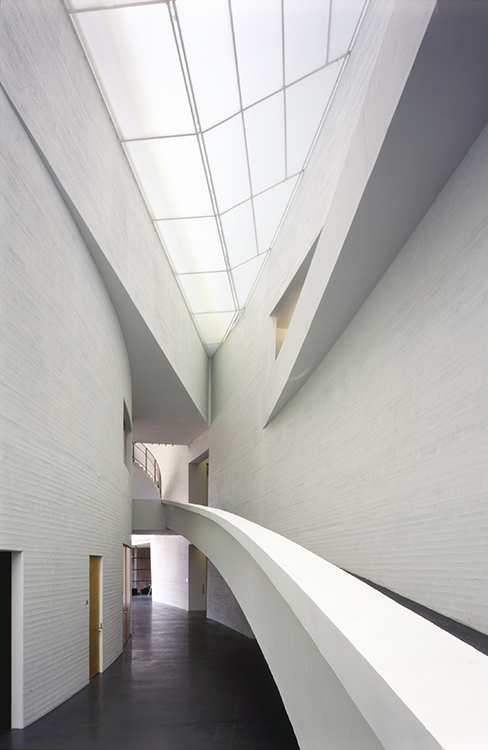 Foto af Kiasma Museum of Contemporary Art af Steven Holl Architects