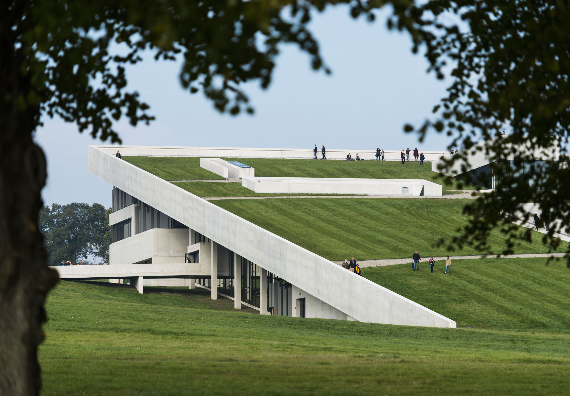 Photo of Moesgaard Museum by Henning Larsen Architects. Photo credit: Hufton Crow.