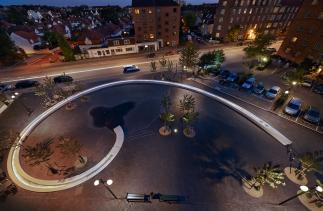 Photo of Lindevangsparken and The Loop by Marianne Levinsen Landscape ApS. Photo credit: Torben Petersen.