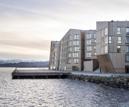 Waterfront i Norge af AART architects